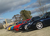 Porsche Corporate Function at Sault Restaurant Daylesford