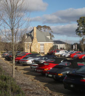 Porsche Club social Function at Sault Restaurant Daylesford